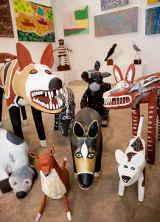 Auf der Cairns Indigenous Art Fair