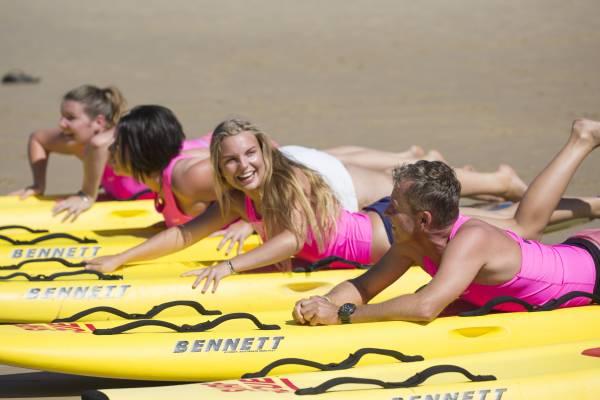 Australische Rettungsschwimmer bei der Arbeit