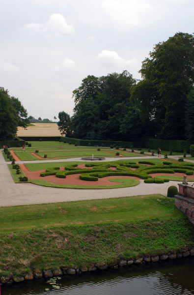 Schlossgarten von Egeskov