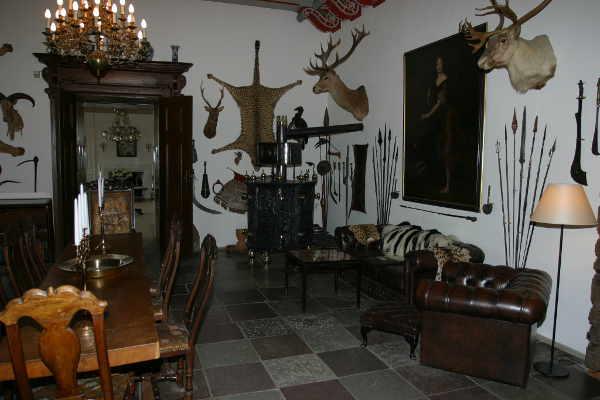 Jagdzimmer auf Schloss Egeskov
