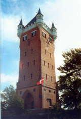 Der Wasserturm - Wahrzeichen von Esbjerg von Stefan Kühn via  Wikimedia Commons