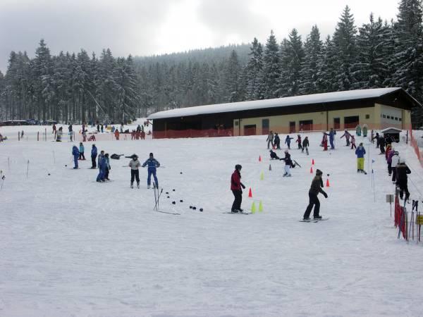 Kinderskikurs in der Ferienregion Fichtelgebirge