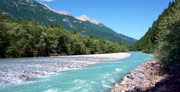 Der Lech ist einer der letzten Wildflüsse Europas