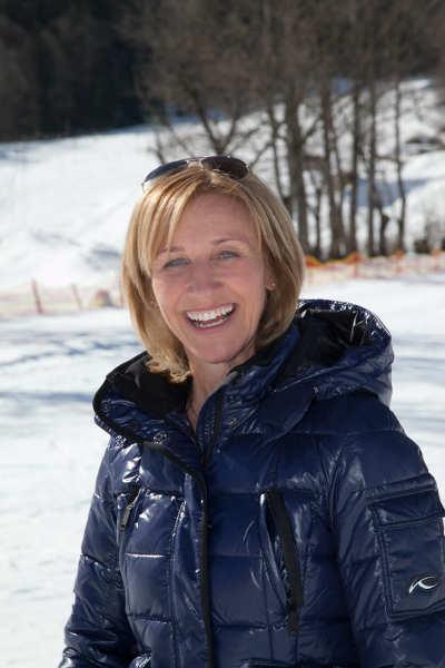 Michaela Gerg bietet spezielle Single-Skikurse an