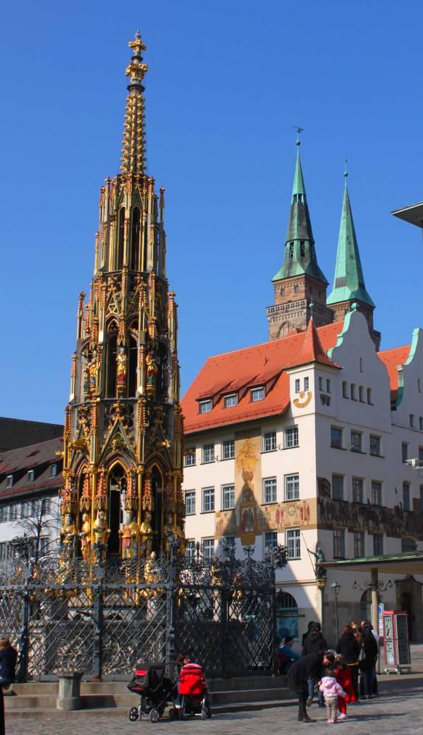 Schöner Brunnen Nürnberg