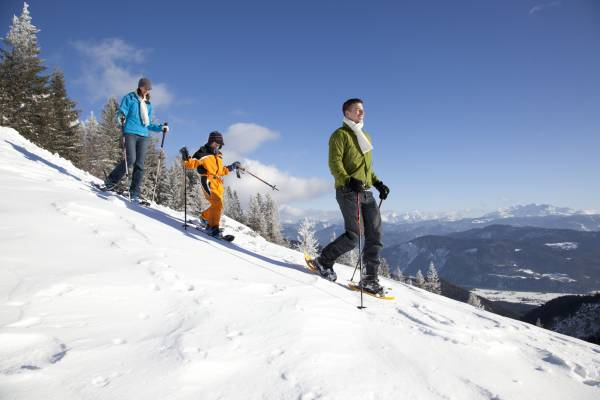 Schneeschuhwandern in der Region Chiemsee Alpenland
