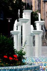 Porzellanbrunnen Selb Ziplinepark von Tourismuszentrale Fichtelgebirge e.V c/o piroth kommunikation