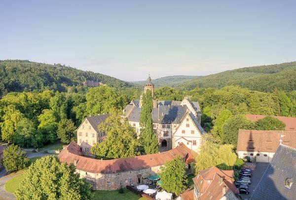 Schloss Büdingen vom Kirchturm aus gesehen
