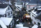 Weihnachtsmarkt in Kronenburg von Udo Haafke