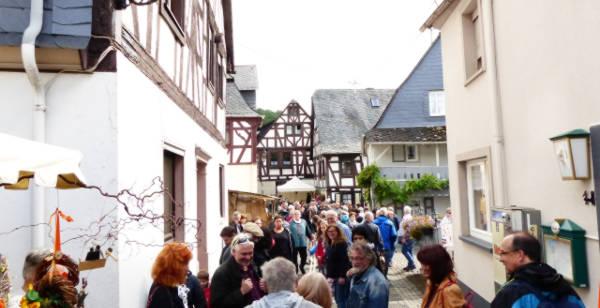 Seildrehen - traditionelles Handwerk auf dem Schinderhannes Räuberfest