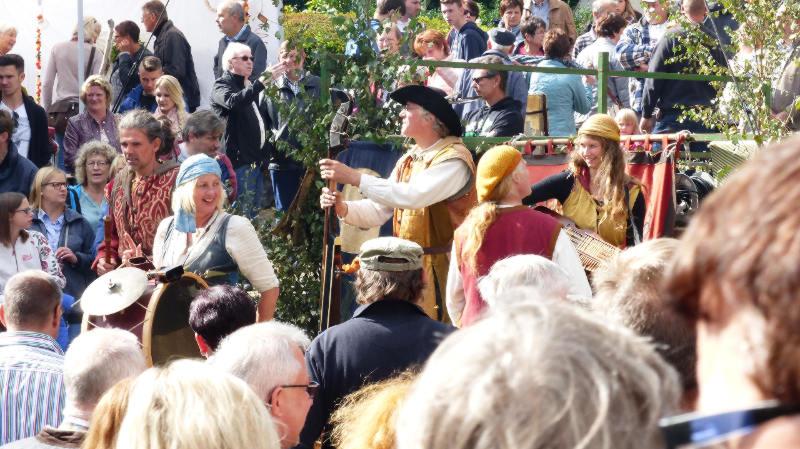 Mittelalterband auf dem Schinderhannes Räuberfest