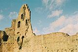 Außenmauer Burgruine Neuleiningen