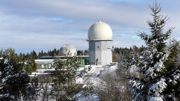 Radarstation auf dem Erbeskopf