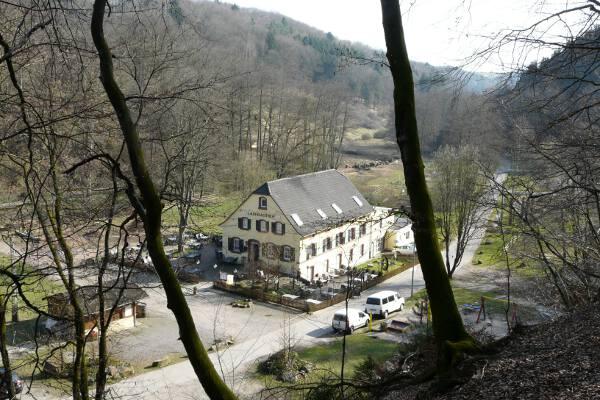 Zentrum des Erlebnistals: Die Weihermühle