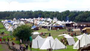 Mittelaltermarkt in Freisen im Jahre 2009 von Hihawai