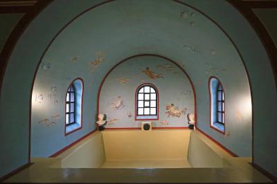 Bad in der Villa Borg
