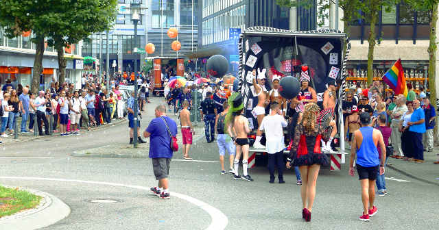 Christopher Street Day Parade in Saarbrücken