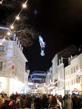 Der fliegende Weihnachtsmann kommt