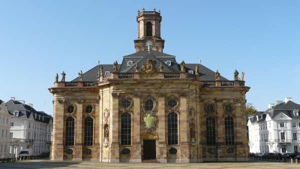 Die Ludwigskirche - Wahrzeichen von Saarbrücken