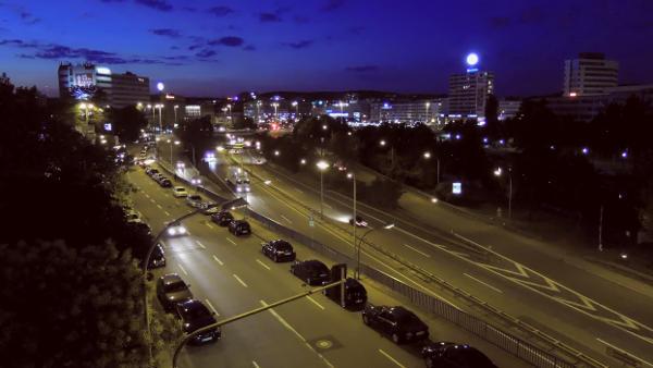 Saarbrücken bei Nacht von Hihawai - Klick für Bildrechte
