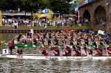 Drachenbootrennen beim Saar-Spektakel