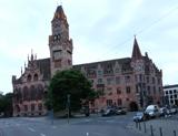 Rathaus St Johann 2: von der Johanniskirche aus