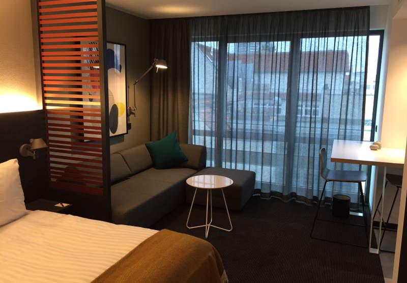 Zimmer im Apartment Hotel in Leipzig