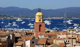 Kirchturm von Saint Tropez - Saint Tropez, the church tower von MartinPutz