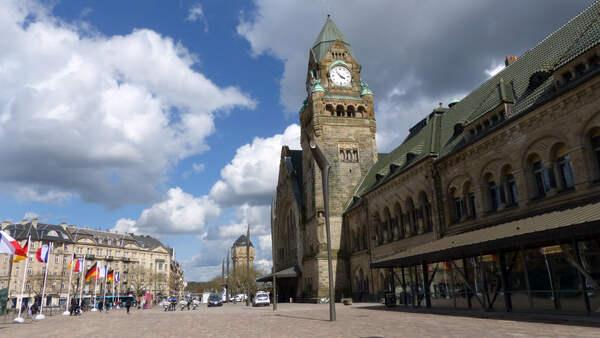 Der Bahnhof von Metz
