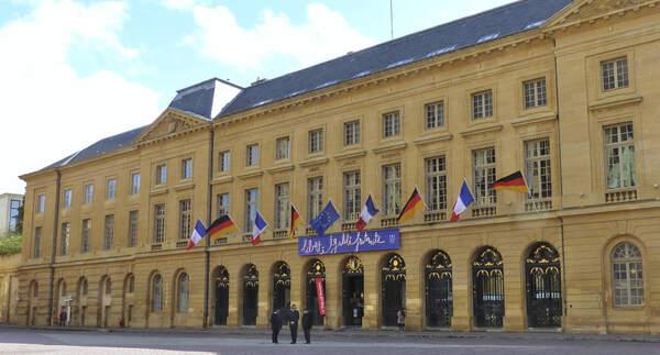 Hôtel de Ville von Metz
