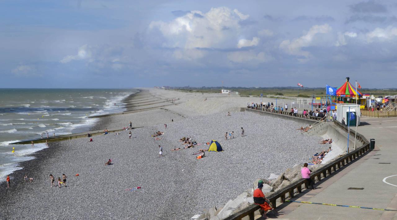 Der Strand von Ault-Onival
