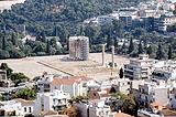 Ruine des Zeustempels von Hihawai