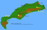 Kos Karte von Hihawai