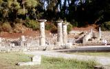 Säulen im antiken Olympia von Hihawai