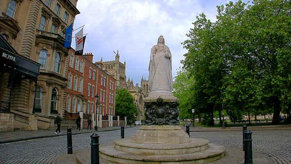 Queen Victoria in Bristol