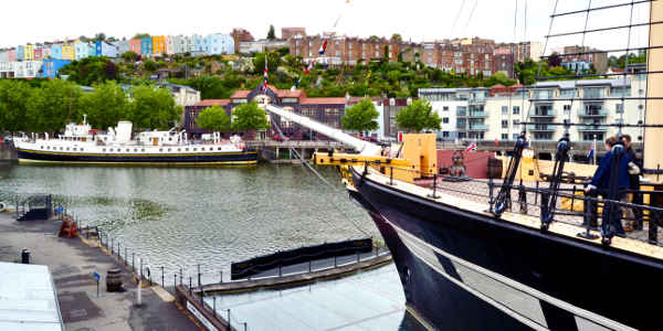 Auf der der SS Great Britain