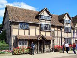Das Geburtshaus von William Shakespeare in Stratford-upon-Avon