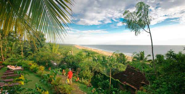 Somatheeram Ayurvedic Health Resort Strand bis zum Horizont