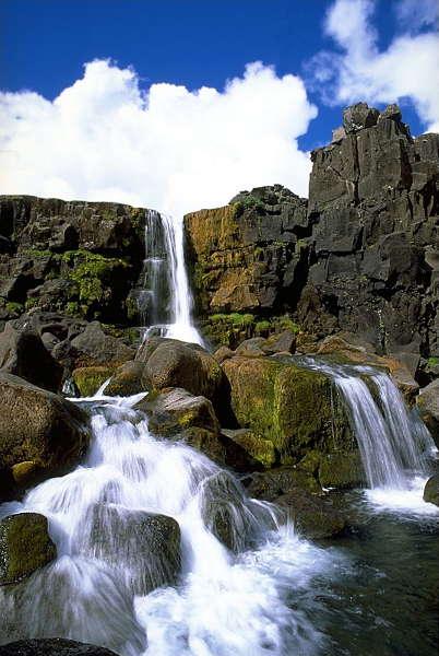 Wasserfall Öxaráfoss