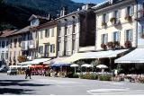 Cannobio Cafes am Seeufer