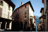 In der Innenstadt von Cannobio