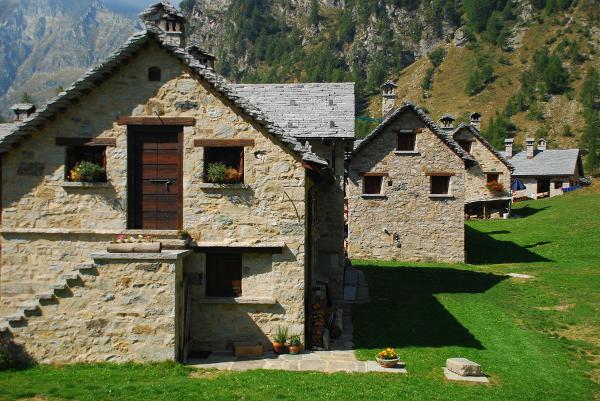 Im Parco dell'Alpe Veglia e dell'Alpe Devero