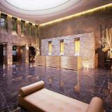 Empfangshalle des Hotel Golden Palace in Turin von Robert Emmet Bright e Alessandro De Crignis c/o CM COMUNICAZIONE