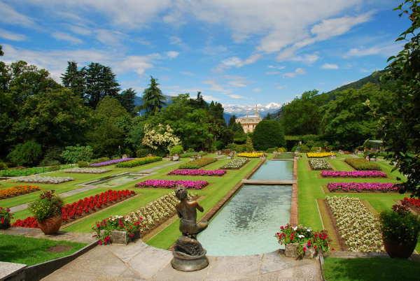Botanischer Garten mit Villa Taranto
