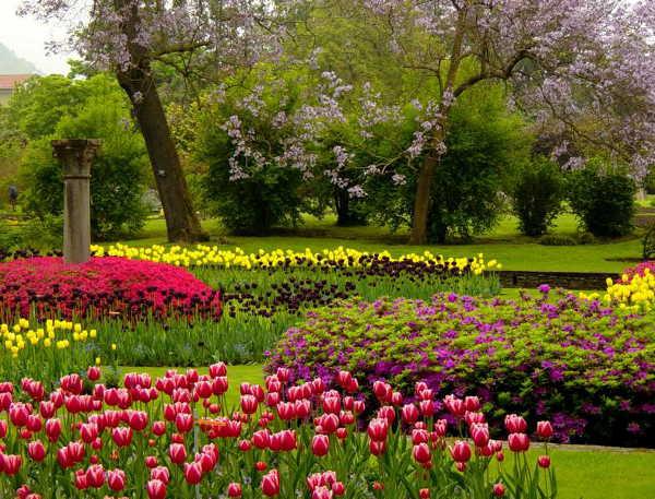 Tulpenschau in der Villa Taranto