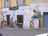 Helmut Schmidt Wandmalerei von Hihawai