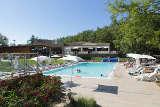 Pool des Glampingplatzes Camping Orlando