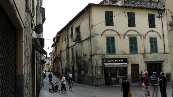 In der Via Filungo, Lucca