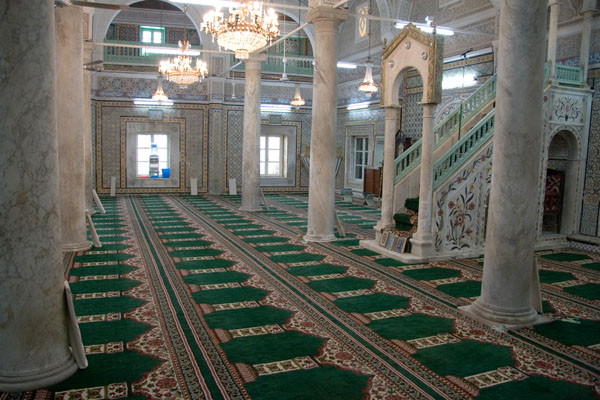 Mosquee of Mustafa Gurji Pasha in Tripoli, Libya. Mustafa Gurji was a Tripoli Naval Captain.