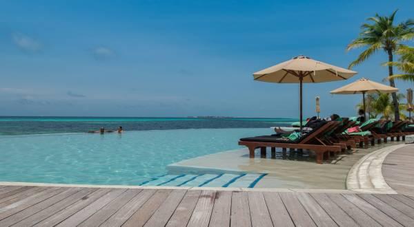 Pool Malediven